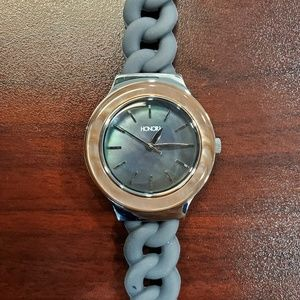 Honora 32mm Grey-Brown Rubber Womens Watch